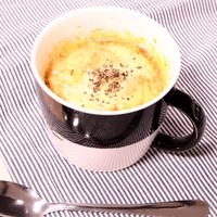 忙しい朝に!マグカップでトマトチーズリゾット