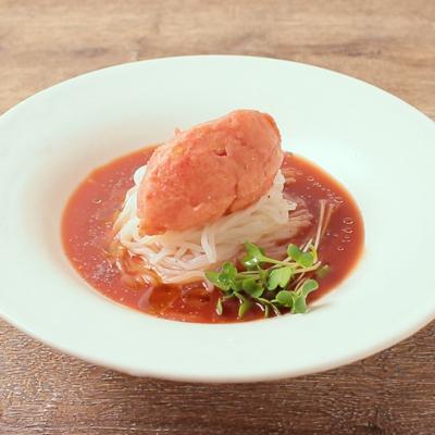 ひんやり まるごとトマト冷麺