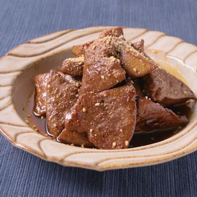 豚レバーの甘辛煮
