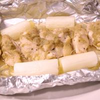 チキンのホイル焼き ゆず胡椒風味