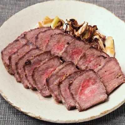 おもてなしにも 牛もも肉の和風オーブン焼き