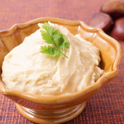 生栗でマロンクリームの作り方