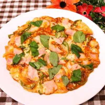 フライパンで簡単!ジャガイモピザ