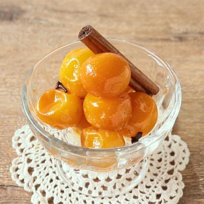 スパイス香る 金柑の蜂蜜煮