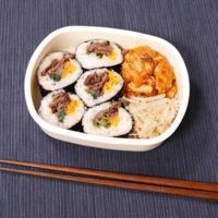 簡単!韓国風海苔巻き弁当