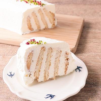 しっとりおいしい ビスケットケーキ