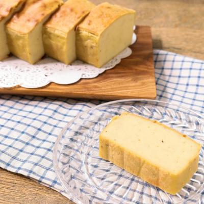 豆腐とバナナのプリンケーキ