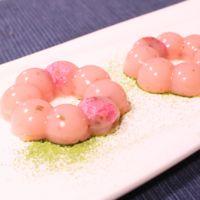 ピンク色!お花の形でかわいい桜のようかん