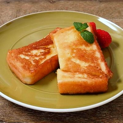 牛乳なしで簡単 フレンチトースト
