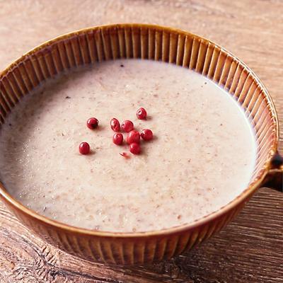 ブラウンマッシュルームの簡単スープ