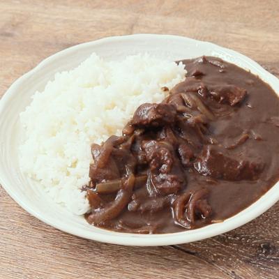 スパイシー牛肉のブラックカレー