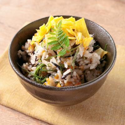 ロカボひじき飯