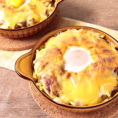 とろとろチーズの焼きカレーグラタン