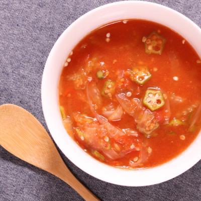 トマトの旨みたっぷりスープ