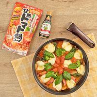 フライパンで作る!マルゲリータ風トマト鍋