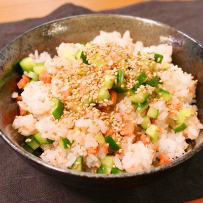 きゅうりが主役!簡単混ぜ寿司