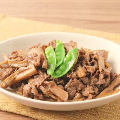 舞茸の旨みたっぷり 牛肉のしぐれ煮