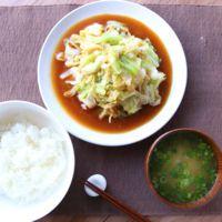 ご飯に合う もやしとキャベツの男飯野菜炒め