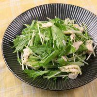 青柚子香る 鶏ささみと水菜のサラダ