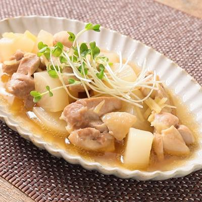 生姜たっぷり 鶏と大根の中華煮