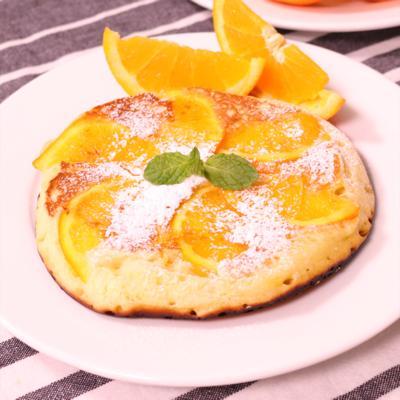 すっきりオレンジの香り!オレンジホットケーキ