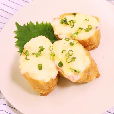 いなり寿司で 和風シーフードドリア