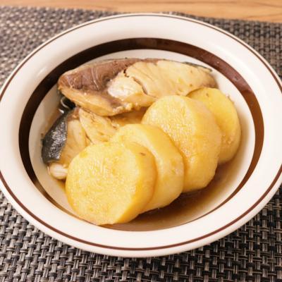 長芋で ブリ大根風煮物