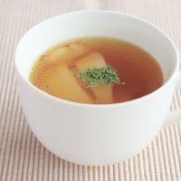 ほっこり温まる かぶとベーコンのスープ