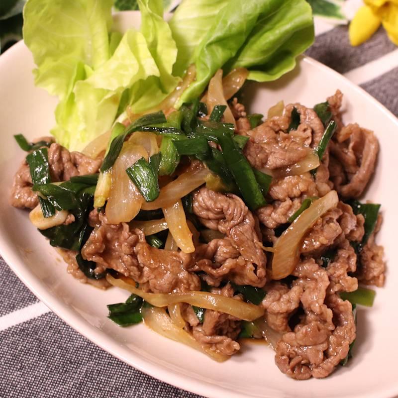 レシピ 牛肉 【レシピ】牛肉とパプリカの甘辛甜面醤炒め。と 献立。と