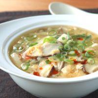 豆腐たっぷり!サンラータンスープ