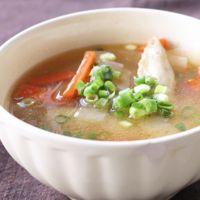 手羽先のあっさりスープ