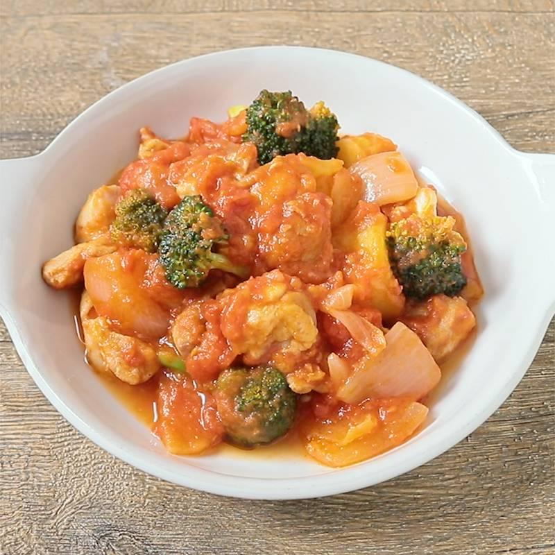 チキン トマト 煮込み