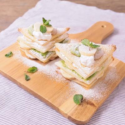 3色クリーム食パンミルフィーユ