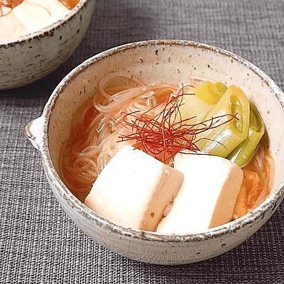 コチュジャン春雨スープ