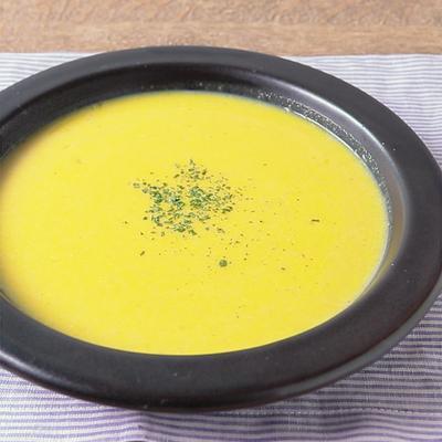 電子レンジで時短 かぼちゃのスープ