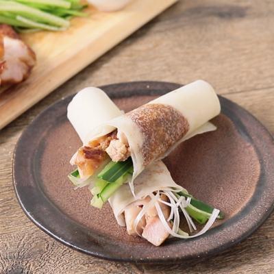 おうちで簡単 鶏もも肉で北京ダック風