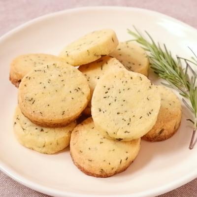 ローズマリーアイスボックスクッキー
