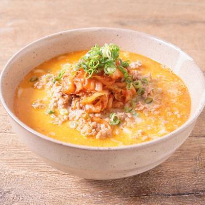 豆乳キムチ担々麺
