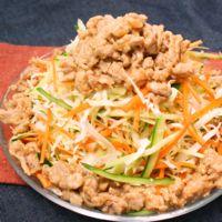 野菜を食べよう 生野菜の肉みそがけ