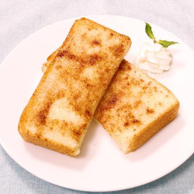忙しい朝に!シナモンシュガートースト