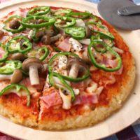 みんなでおいしい ごはんピザ