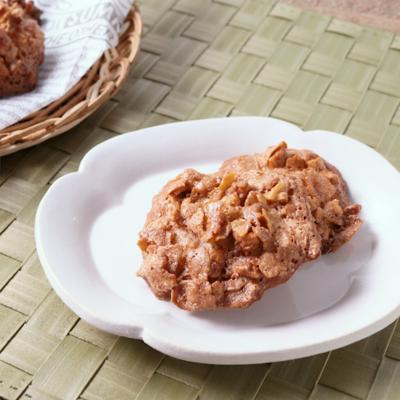 コーンフレークとくるみのクッキー