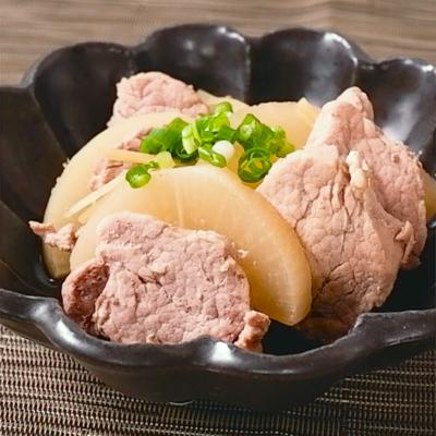 豚ヒレ肉のあっさり煮込み