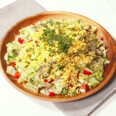 プチプチ食感が楽しい 春雨のチョップドサラダ