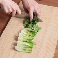 チンゲン菜の切り方