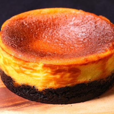 混ぜるだけ簡単!ココアクッキーチーズケーキ