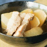 ほっこり美味しい大根と豚バラ肉の簡単煮