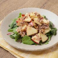 りんごとツナの簡単和えサラダ