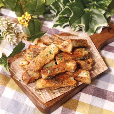 食パンでお手軽スナック カリカリ!ハーブチーズクルトン
