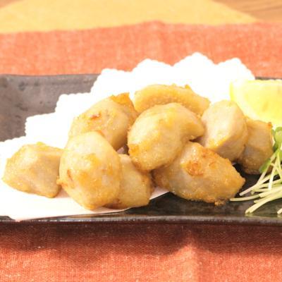 あっさり ほくほく里芋の塩麹唐揚げ